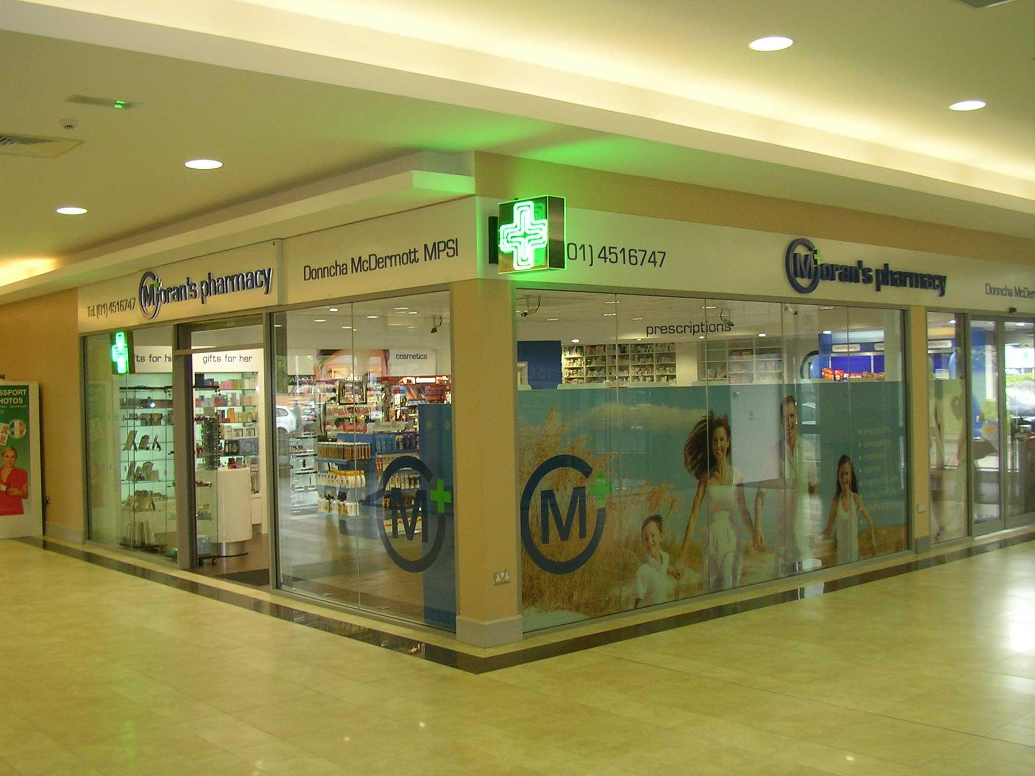 pharmacy shopfitters belfast