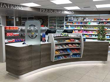 Pharmacy shopfitting northern ireland