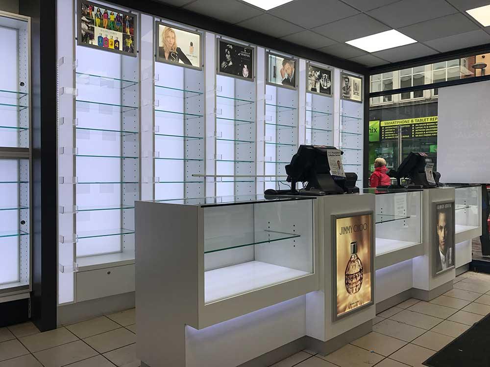 pharmacy shopfitters northern ireland