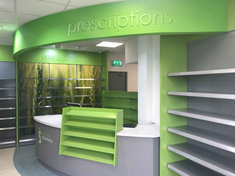 pharmacy fitout specialists