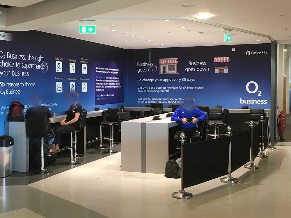 shopfitters Belfast City Airport