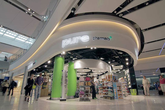 Pharmacy interior fitout