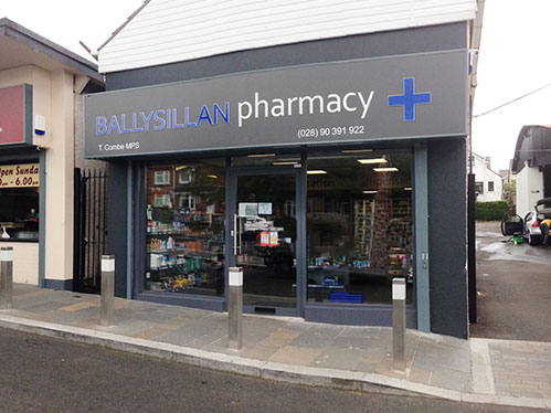 pharmacy fit out