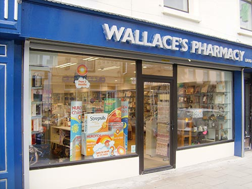 Pharmacy shopfitters Belfast