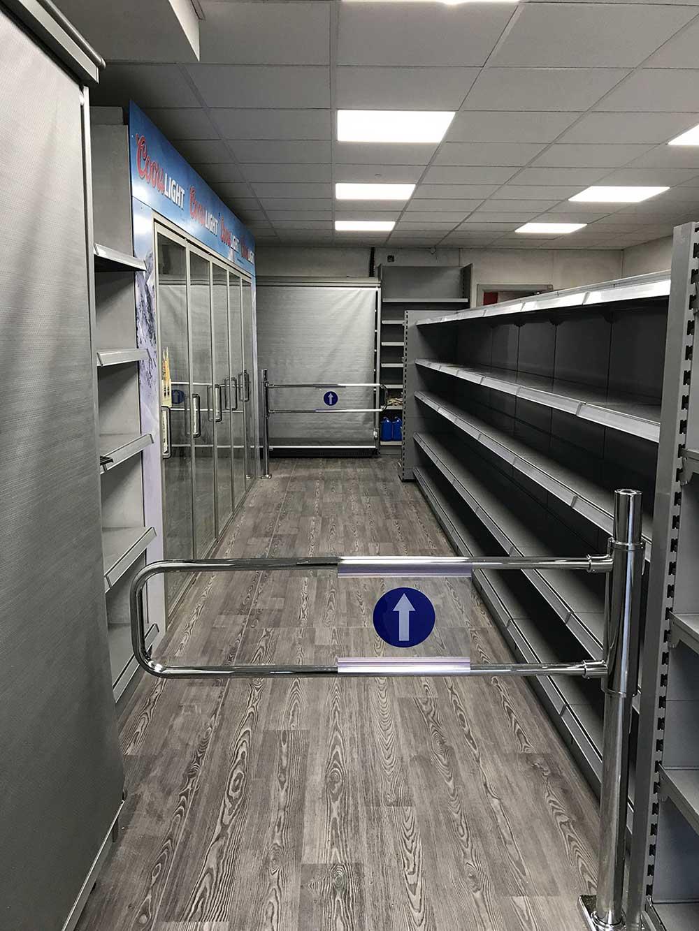 supermarket shopfit